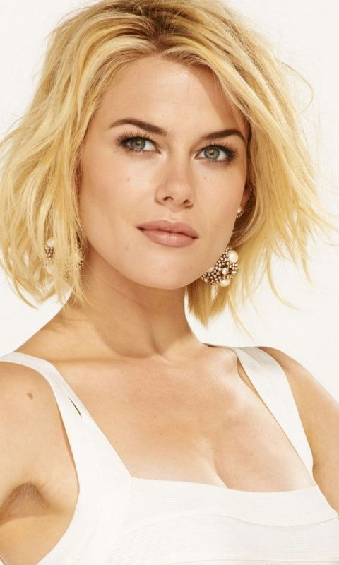 Celebrity Short Hair Rachael Taylor 480x800 Wallpaper