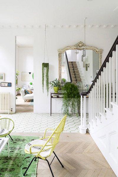 Victorian house hallway