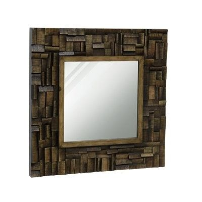 StyleCraft Home Collection  MI11025DS Wooden Mirror