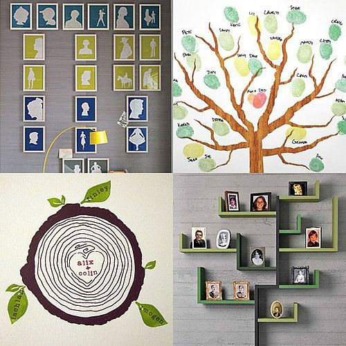 modern family tree