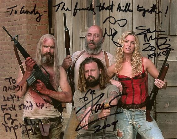 rob zombie dater naked