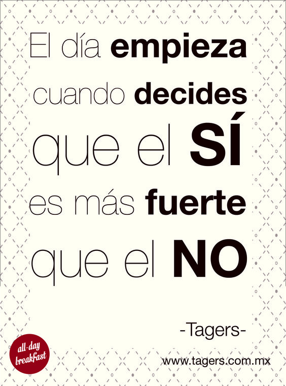 Sí se puede #YesYouCan #Tagers #Frases #Positivo
