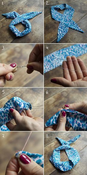DIY DU HEADBAND | Make my lemonade