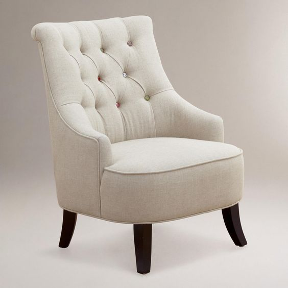 Cute as a button erin chair guest rooms cheap chairs for Cheap cute furniture