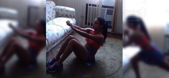 """Projeto #saradasemsairdecasa!!! Como ontem só fiz cardio, hoje resolvi fazer um Mix de exercícios para trabalhar toda a musculatura corporal! Comecei com superiores, fui pro abdominal e terminei com pernas e gluteos! Fiz todas as séries em sequência e, ao final, aquele """"aeróbio"""" na escada …"""