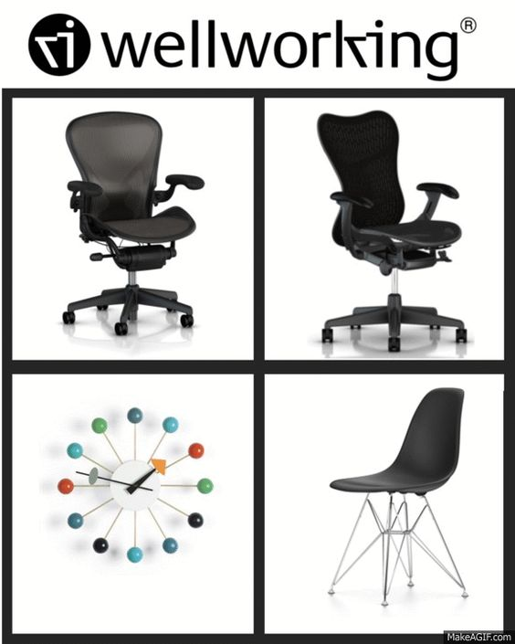 #BlackFriday and #CyberMonday reminds us all of one thing – saving on our favourite products. Check out the #Wellworking sale on top brands on our website from Nov 27th to 30th. Don't miss out on this great opportunity to buy Herman Miller #Aeron and #Mirra 2 chairs, Vitra #Nelson Ball #Clock and Vitra Charles and Ray Eames DSX plastic side chairs.