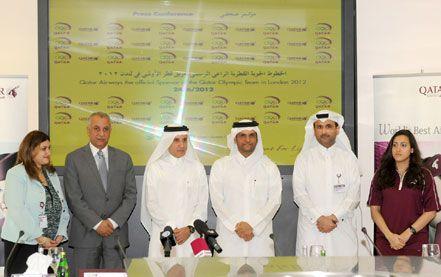 Qatar Airways envoie les athlètes qataris aux Jeux Olympiques de Londres