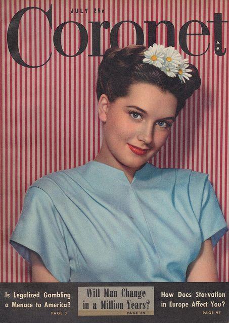 .: Coronet July, Fashion 1940S, Coronet Magazine, Magazine July, July 1946, Vintage Fashion, Vintage Magazine Covers, Vintage Magazines