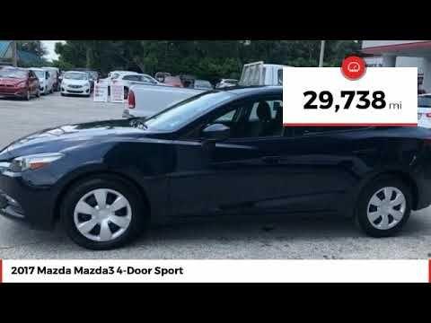 2017 Mazda Mazda3 4 Door Sport Used Hm124935 Mazda Mazda3 Mazda Rear Backup Camera
