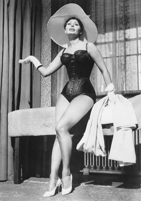 """Sophia Loren en """"La Millonaria"""", 1960"""