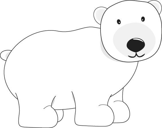 Clip Art Polar Bear Clip Art polar bear clip art pinterest graphics bears and image for teachers classroom lessons educators school print scrapbooking more