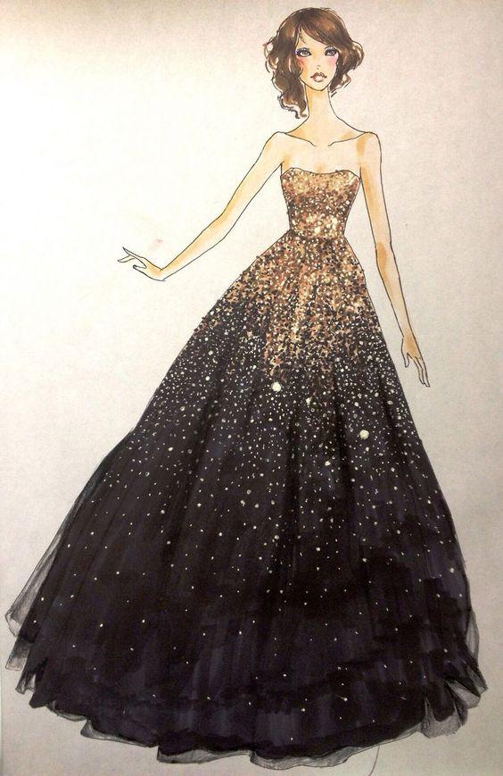 fashion design dress sketches google search