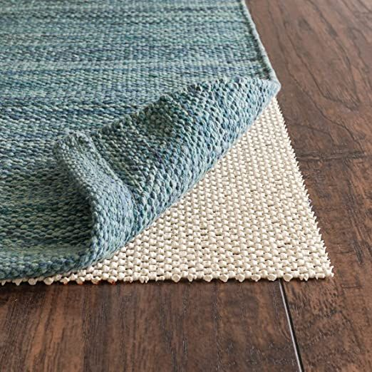 Rugpadusa Super Lock Natural 10 X16 1 8 Quot Quot Thick Natural Rubber Gripping Open Weave Rug Pad More Durable Than P In 2020 Rubber Rugs Rug Pad Natural Rug