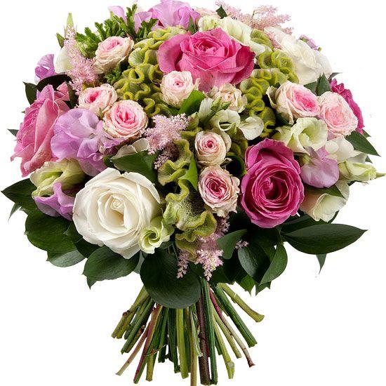 Bouquet de fleurs charme et l gance se for Envoi fleurs domicile