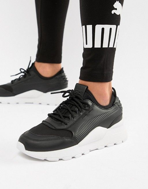 uk store big sale new images of Puma RS-0 Sound Black Sneakers   Black sneakers, Air max ...