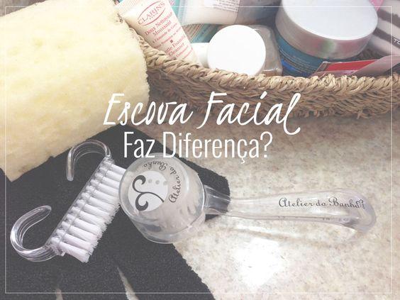 Instrumento - Escova facial