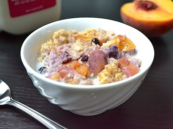 super delicious baked oatmeal from Budget Bytes. bake it at the beginning of the week then enjoy it for a quick breakfast (or snack) any time!