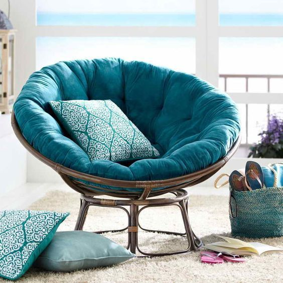 36 Amazing Papasan Chair Design Ideas For Your Living Room