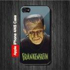 Frankenstein iPhone 4, 4S Case - Black Case #iPhone4 #iPhone4 #PhoneCase #iPhone4Case #iPhone4Case