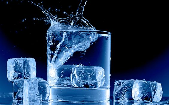 the color blue ice and water | water splash drops liquid ice cubes square shapes blue contrast color ...
