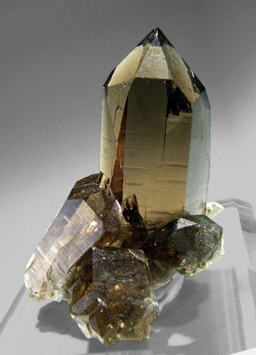 Smoky Quartz from Switzerland by Fabre Minerals