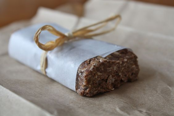 Homemade Chocolate Brownie Clif bars