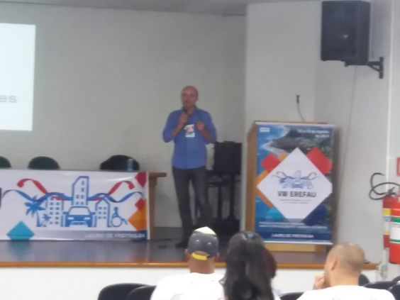 Roberto Rodrigues, palestrante de Porto Alegre, durante o VIII Erefau em Lauro de Freitas, BA, nos dias 16, 17 e 18/08/2018.
