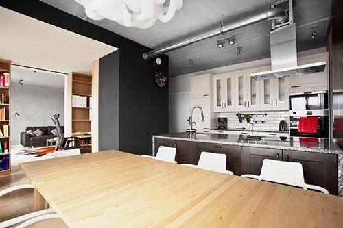 Modern appartement voor de man | Interieur inrichting