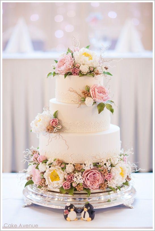 Sugar Peonies  English Roses wedding