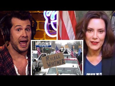 Crowder On Michigan Governor S Insane Laws Louder With Crowder Youtube In 2020 Michigan Gov Vote Trump Crowder