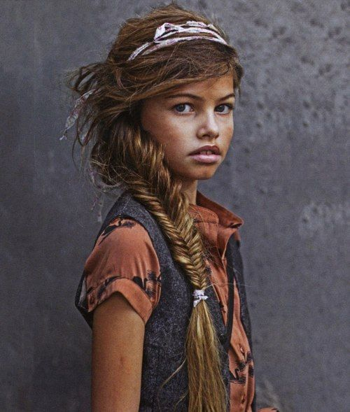 Thylane blondeau controversial or not this girl is stunning babes pin - Thylane blondeau taille ...