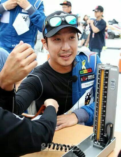 Haha Ha Dong Hoon, test pre-race, #ksf #carrace #infinitychallenge