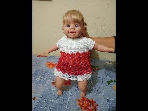 Como Fazer Vestido De Croche Para Boneca Passo A Passo Youtube