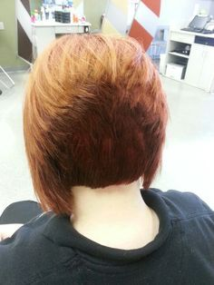 concave bob back view of stacked bob haircut trendy short concave bob back view google search short hair