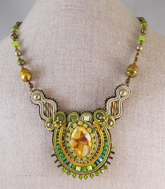 """Amee Runs with Scissors    Large necklace from my 2012 """"Relish"""" collection"""
