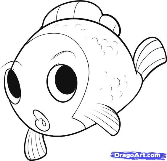 Pinterest the world s catalog of ideas for Cartoon fish drawing