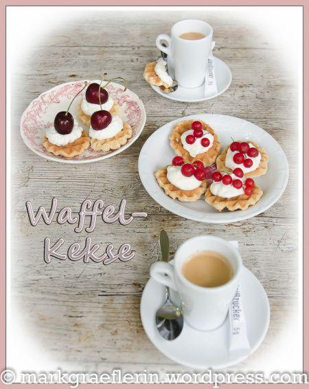 Waffle Biscuits (Cookies) Waffelkekse 1