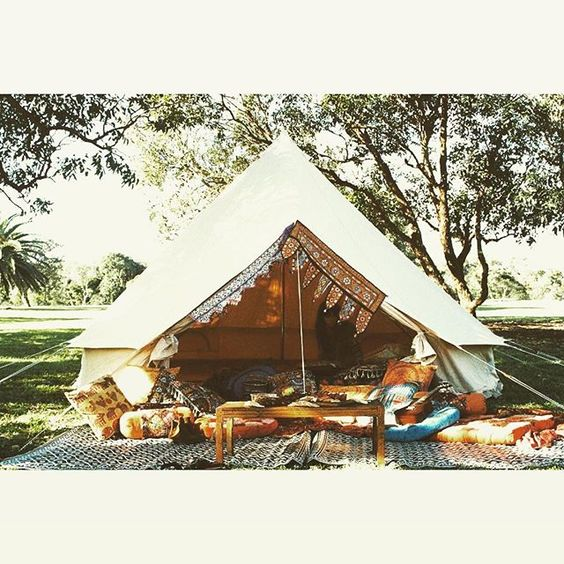 Tree of life collaboration ✌🏼️ @treeoflife_love #belltent #belltentstyling…