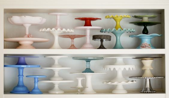 I have three.  This is amazing!  Cake stand collection, perfection!
