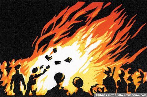 burning books - Google Search: