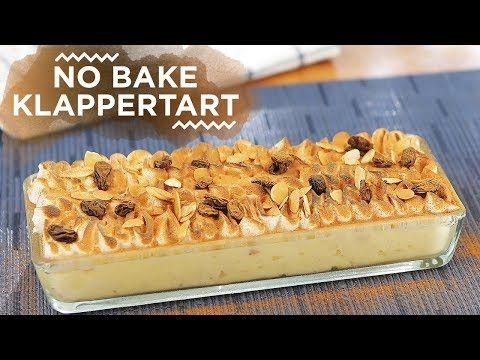 Resep No Bake Klappertaart Yuda Bustara Youtube Memanggang Kue Hidangan Penutup Makanan