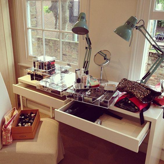#organização #diadebeaute #maquiagem #beauty #home