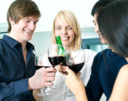 Saturday, Feb 18th - National Drink Wine Day - like I needed an excuse, lol!
