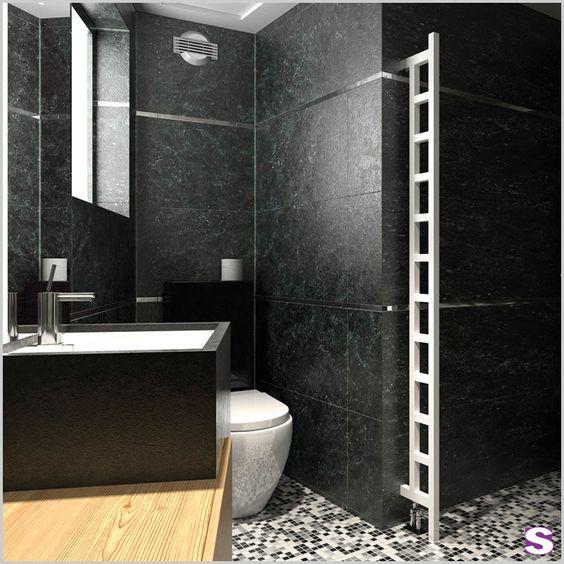 Designheizorper Estu In Dem Kleinsten Bad Findet Estu Seinen Platz Und Sorgt Fur Angenehme Warme Durch Die Praktischen Raumteiler Handtuchtrockner Sanitar