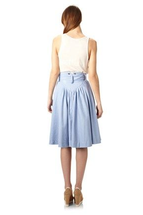 Laurie Linen Skirt - Skirts - French Connection Usa