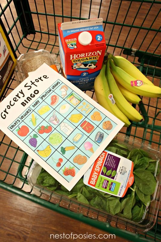 fun game for the kids grocery store bingo games for