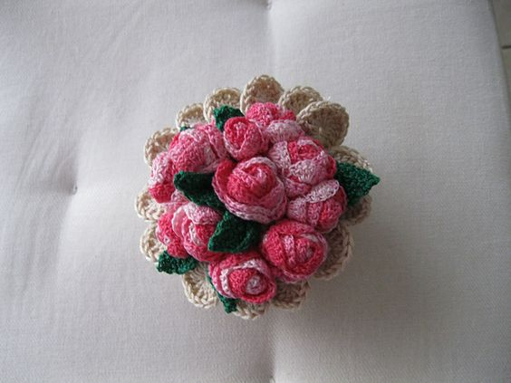 Ravelry: Project Gallery for bouquet de mariée pattern by Comtessecreations Comtess