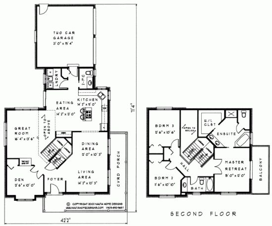 Two storey house plan ts207 nauta home designs dream for Nauta home designs