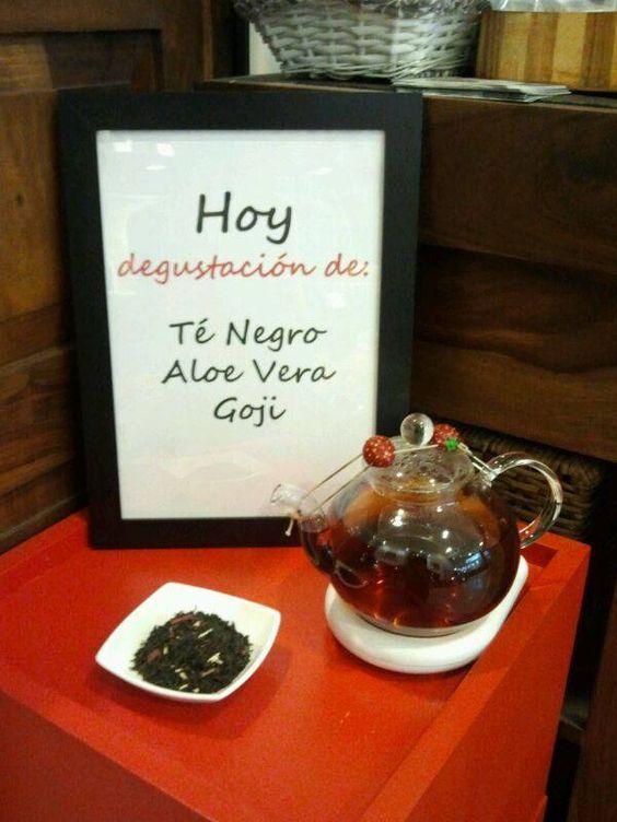 "Momento ""Té Negro Aloe Vera Goji"""