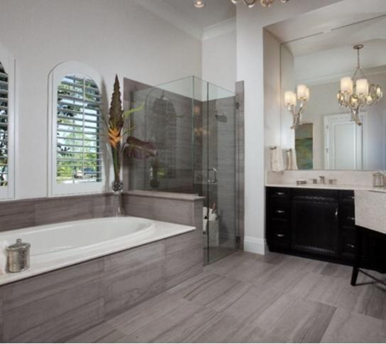 24 Innovative Bathroom Ideas Charcoal Tiles | eyagci.com on gray tile stone, gray tile kitchen, gray tile countertops,